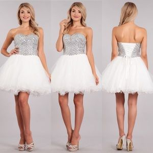 My Fashion 1726 White Dress